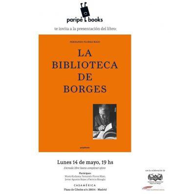 """Presentation of """"La Biblioteca de Borges"""""""