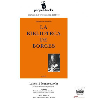 """Presentación de """"La Biblioteca de Borges"""""""